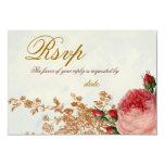 Blenheim Rose - Summer Sky RSVP 9 Cm X 13 Cm Invitation Card