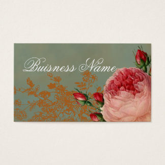 Blenheim Rose Swing Tag Business Card