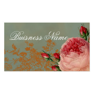 Blenheim Rose Swing Tag Pack Of Standard Business Cards