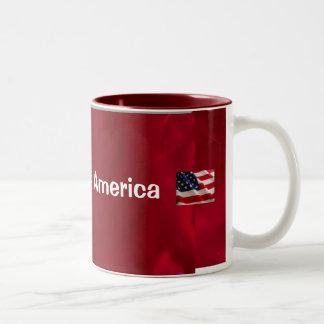 Bless America Two-Tone Mug