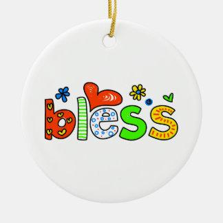Bless Ornament