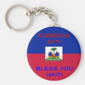 Bless Haiti keychain