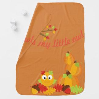 Bless My Little Owl Baby Blanket