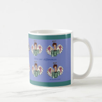 Bless our differences coffee mug