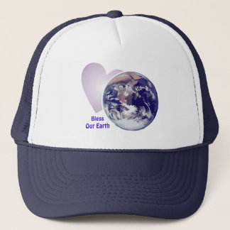 Bless Our Earth Trucker Hat