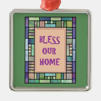 Bless Our Home-Ornament Christmas Ornament