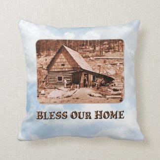 Bless Our Home - Pillow Throw Cushion