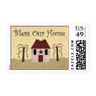 Bless Our Home Postage
