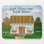 Bless Our Irish Home Mouse Pad