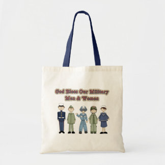 Bless our Military Budget Tote Bag
