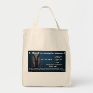 Bless Someone! Grocery Tote Bag