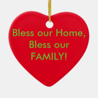 Bless this home ornament! Jesus is the reason! Christmas Ornament