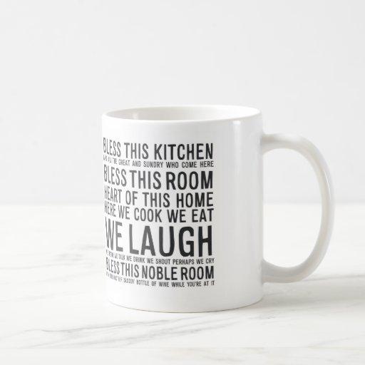 bless this kitchen MA012 Coffee Mug