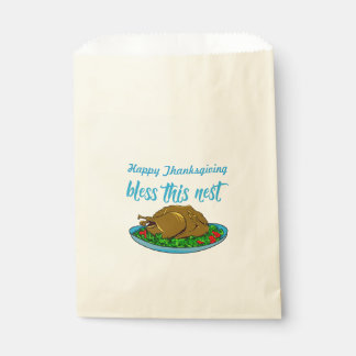 Bless This Nest Family Thanksgiving Favour Bags