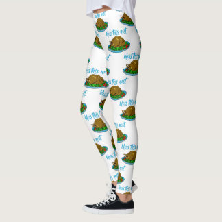 Bless This Nest Family Thanksgiving Leggings