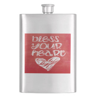 Bless Your Heart Hip Flask