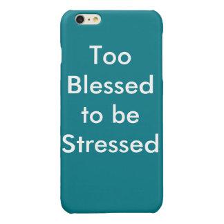 Blessed 2 iPhone 6 plus case