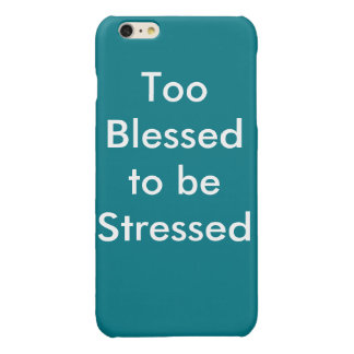 Blessed 2 iPhone 6 plus case