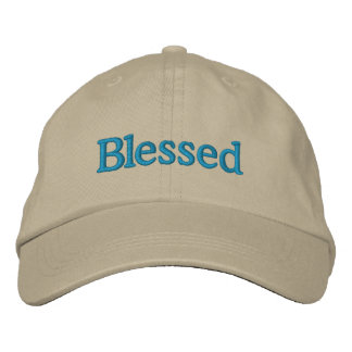 Blessed  Adjustable Embroidered Hat