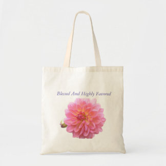 Blessed And Highly Favored Tote Bag