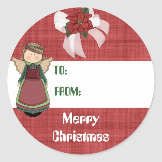 Blessed Angel Gift Tag