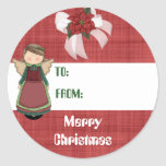 Blessed Angel Gift Tag Stickers