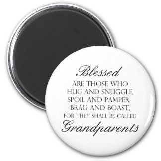Blessed Are... Grandparents Magnet