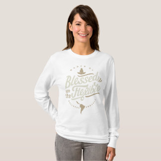 Blessed are the Flexible Long Sleeve T-Shirt