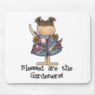 Blessed are the Gardeners Mouse Pad