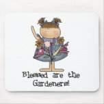 Blessed are the Gardeners Tshirts and Gifts Mouse Pads