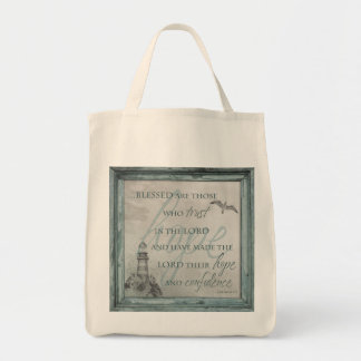 Blessed are Those Who trust in the Lord Tote Bag