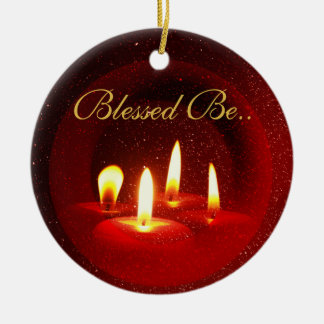 Blessed Be... Christmas Ornament