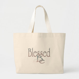 Blessed Be Jumbo Tote Bag