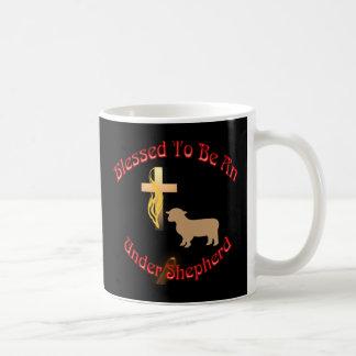 BLESSED BE UNDER SHEPHERD CIR DK MUGS