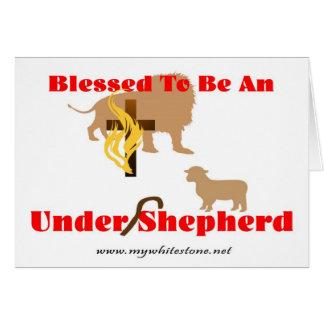 BLESSED BE UNDER SHEPHERD LT CARD