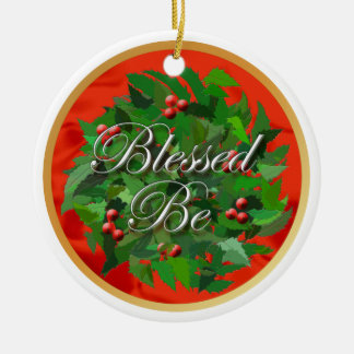 Blessed Be Yule Ornament