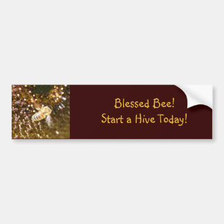 Blessed Bee Bumper Sticker