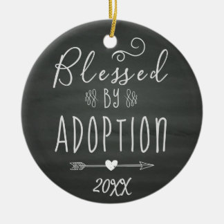 Blessed by Adoption - Foster Care, Adopt Gift Christmas Ornament