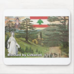 Blessed by Lebanon Mouse Pad