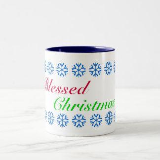 Blessed Christmas Mug