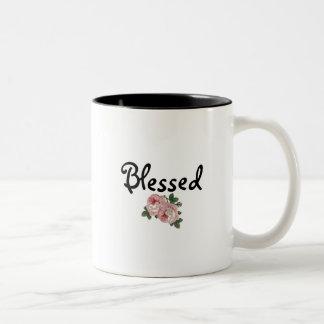Blessed Floral Mug