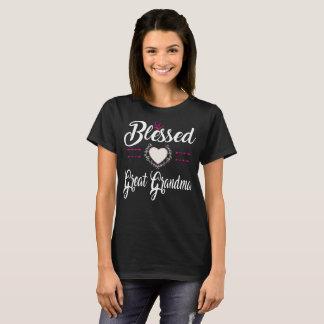 BLESSED GREAT GRANDMA T-Shirt
