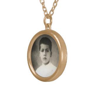 Blessed Jose Sanchez Del Rio - Holy Medal 2 Round Pendant Necklace