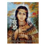 Blessed Kateri Tekakwitha Postcard