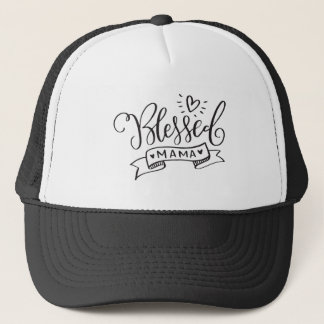 Blessed Mama Trucker Hat