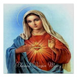 Blessed Mary print