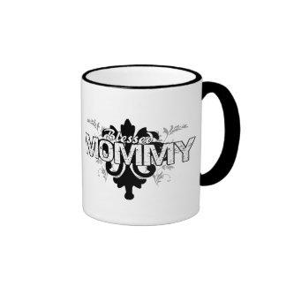 Blessed Mommy Ringer Mug