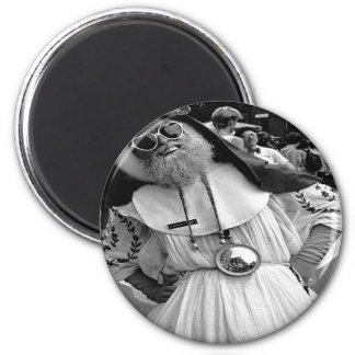 Blessed Mother Drag Queen NYC 6 Cm Round Magnet