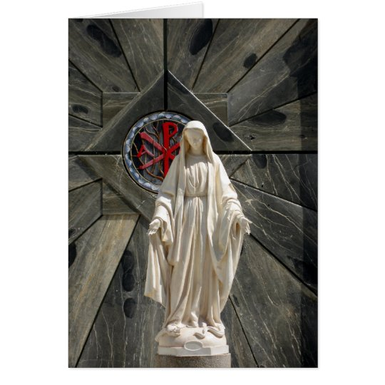 Blessed Mother Note Card
