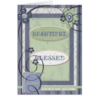 Blessed Photo Greeting Card